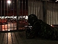 Thai troops protect Bangkok financial hub