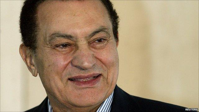 Egypt's former president Hosni Mubarak 'in a coma'