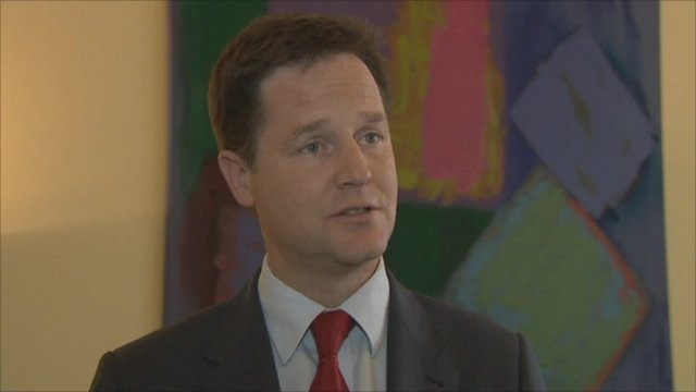 Clegg defends PM's position over phone-hacking row