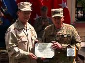 Gen. Petraeus ends command in Afghanistan