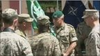 Play Petraeus hands over Afghan command