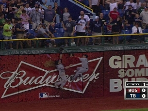 Reddick's unbelievable catch