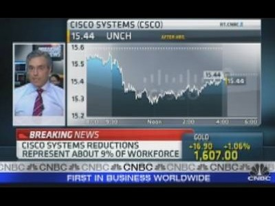Cisco to Cut Jobs