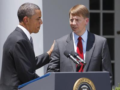 Obama appoints Cordray to lead consumer agency