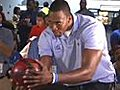 Dwight Howard Holds Charity Bowling Event