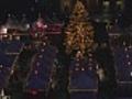 christmas market - timelapse