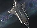 Space Shuttle Atlantis undocks from ISS