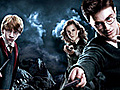 'Potter' World Cup: Harry,  Ron And Hermione