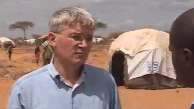 Mitchell on UK efforts 'to stop drought becoming a catastrophe'