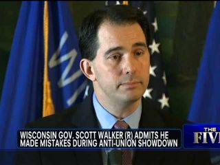 DEBATE: Should WI Governor Scott Walker Have Admitted Mistakes?