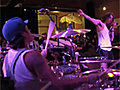 Incubus drummer's Jose Pasillas POV from the stage