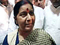 Bihar polls: Sushma Swaraj hints at Modi not campaigning