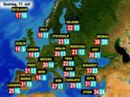 Das Wetter in Europa