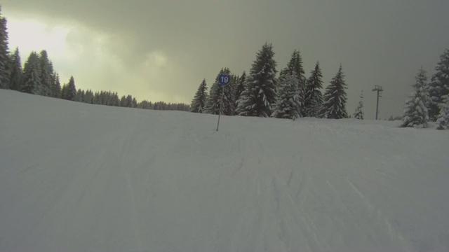 Go Pro HD: Goes skiing.