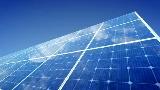 映像素材 ソーラーパネル Solar Panel F1B