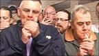 Play Smokers light up in ban protest