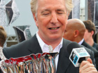 Alan Rickman Accepts The Honor Of Winning The 'Potter' World Cup