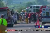 2 muertos en accidente de bus turístico