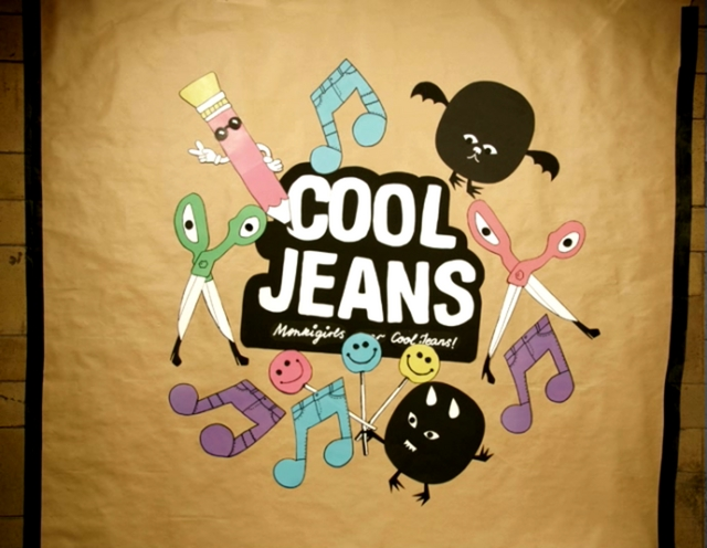 Monkigirls wear Cool Jeans