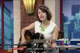 La cantautora,  Gaby Moreno, en