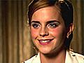 Emma Watson Talks Growing Up On-Screen