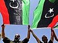 Libyans celebrate Kadhafi arrest warrant