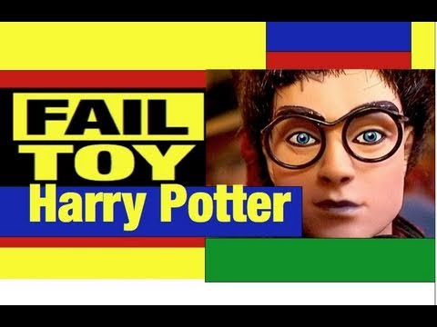 Harry Potter Dolls Fail Toy Review by Mike Mozart @JeepersMedia Puppet Sorting Hat too