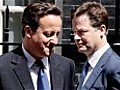 Nick Clegg: no question over David Cameron's position
